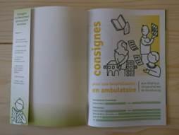 Le passeport ambulatoire. Crédit photo : La Fabrique de l'hospitalité